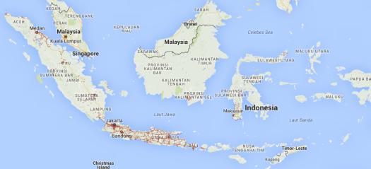 Peta sebaran jaringan 4G LTE Smartfren
